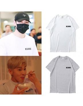 Camiseta Nu'est W, TVXQ YUNHO
