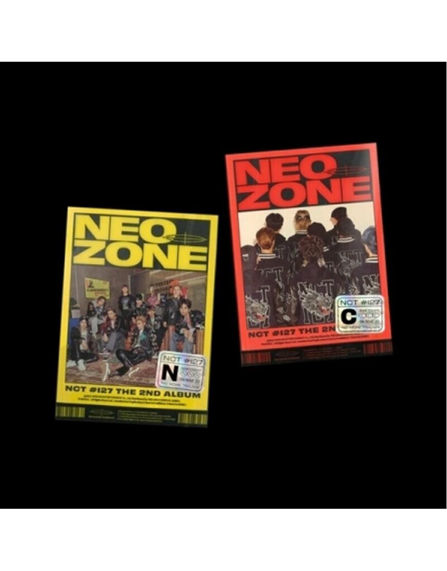 NCT 127 - NEO ZONE CD popup