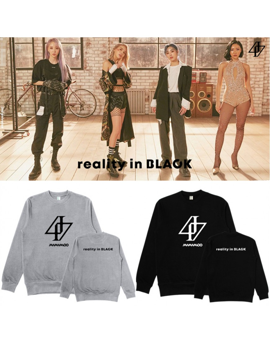 Blusa Mamamoo Reality in Black popup