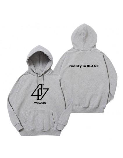 Moletom Mamamoo Reality in Black