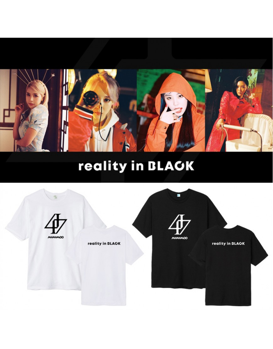 Camiseta Mamamoo Reality in Black popup