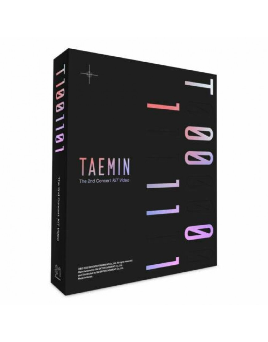 TAEMIN - 2ND CONCERT T1001101 KIT VIDEO popup