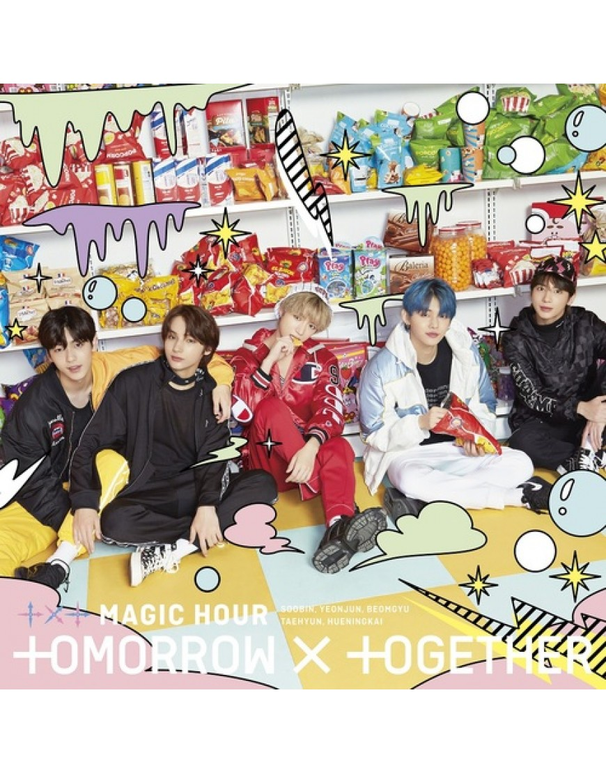 TXT- MAGIC HOUR [Type C] Limited Edition popup