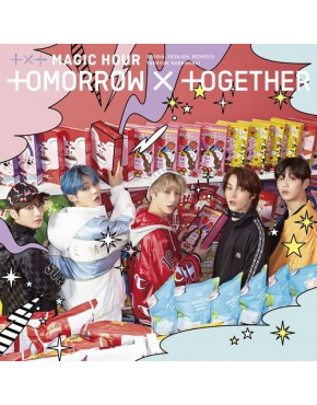 TXT TOMORROW X TOGETHER- MAGIC HOUR [Type B] Limited Edition