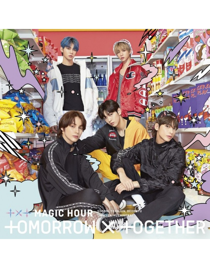 TXT- MAGIC HOUR [Type A] Limited Edition popup