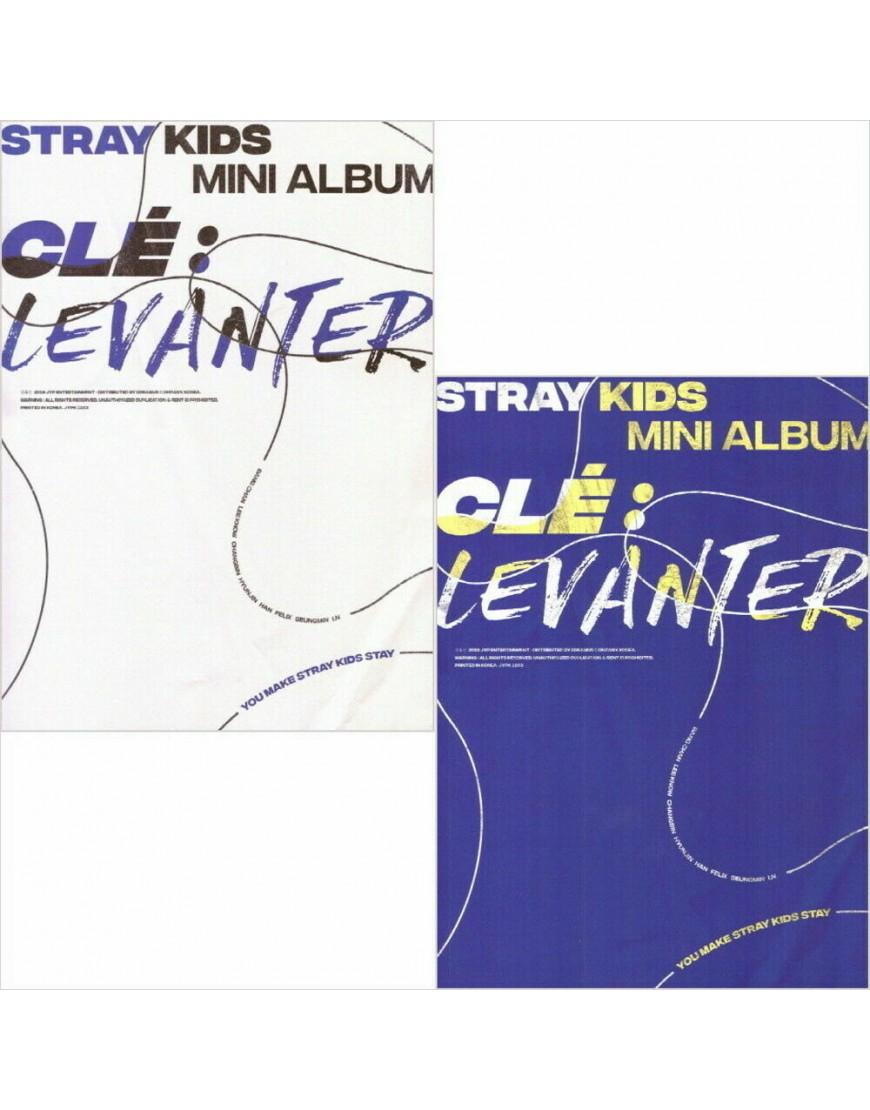 STRAY KIDS - Clé 3: LEVANTER [Normal ver.] CD popup