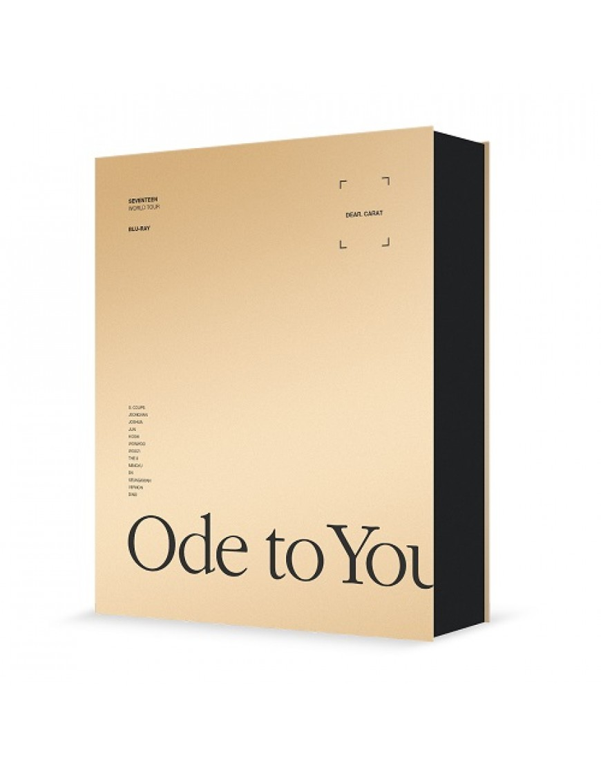 SEVENTEEN - WORLD TOUR ODE TO YOU IN SEOUL Blu-ray popup
