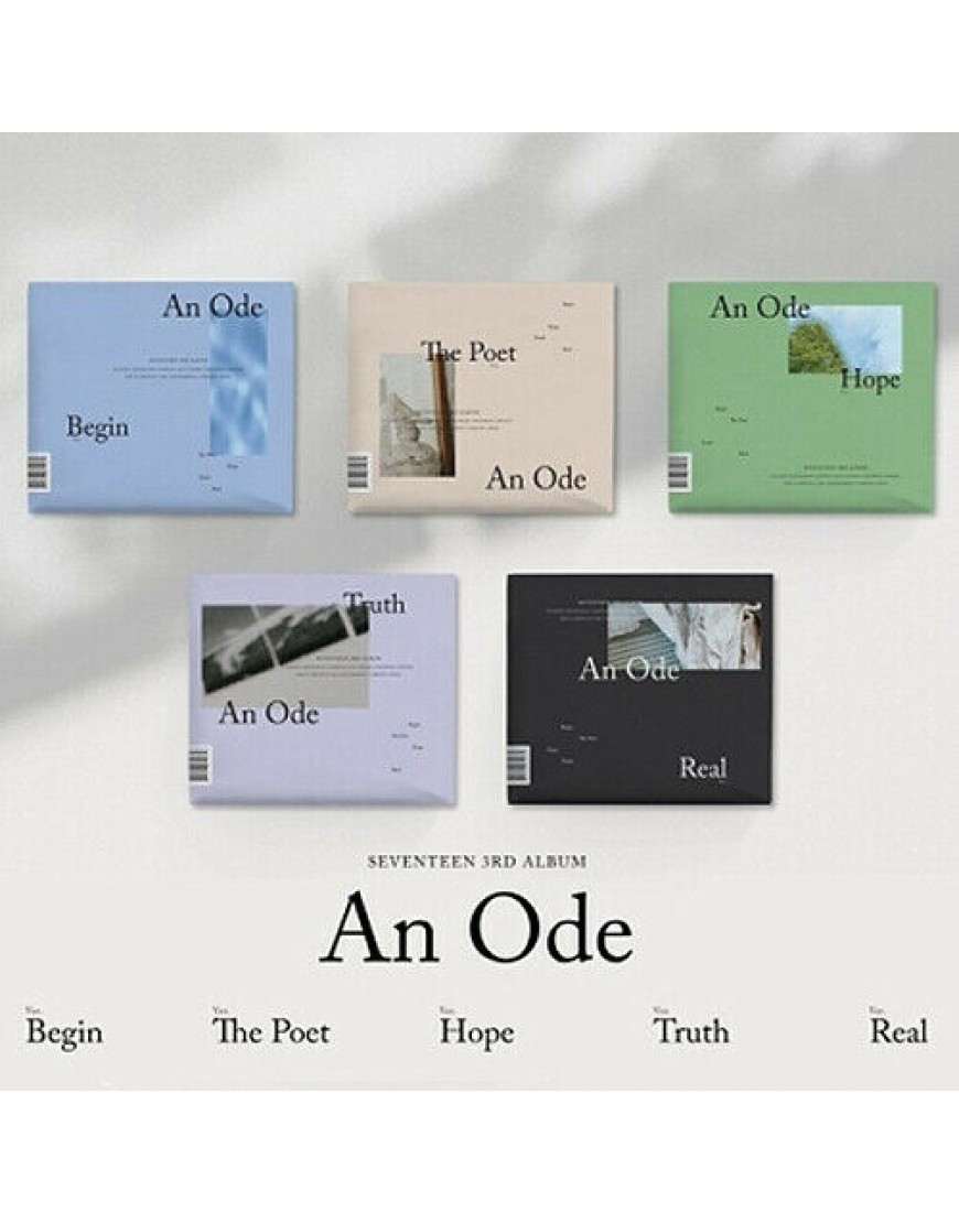 SEVENTEEN - An Ode (3rd album ) CD popup