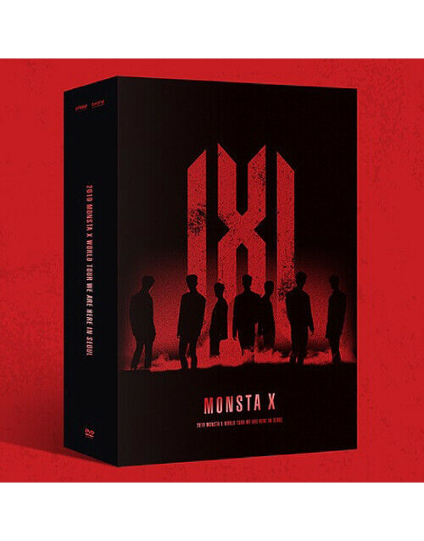MONSTA X - 2019 WORLD TOUR WE ARE HERE IN SEOUL DVD popup