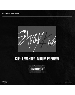 STRAY KIDS - Clé : LEVANTER [Limited ver.] CD