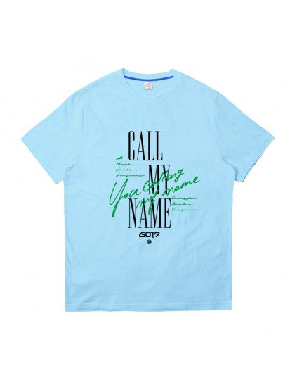 Camiseta GOT7 Call my name