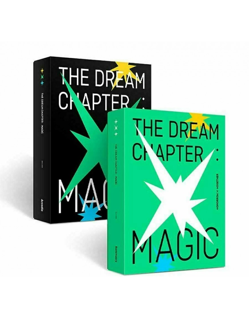 COMBO TOMORROW X TOGETHER (TXT) - THE DREAM CHAPTER : MAGIC CD popup