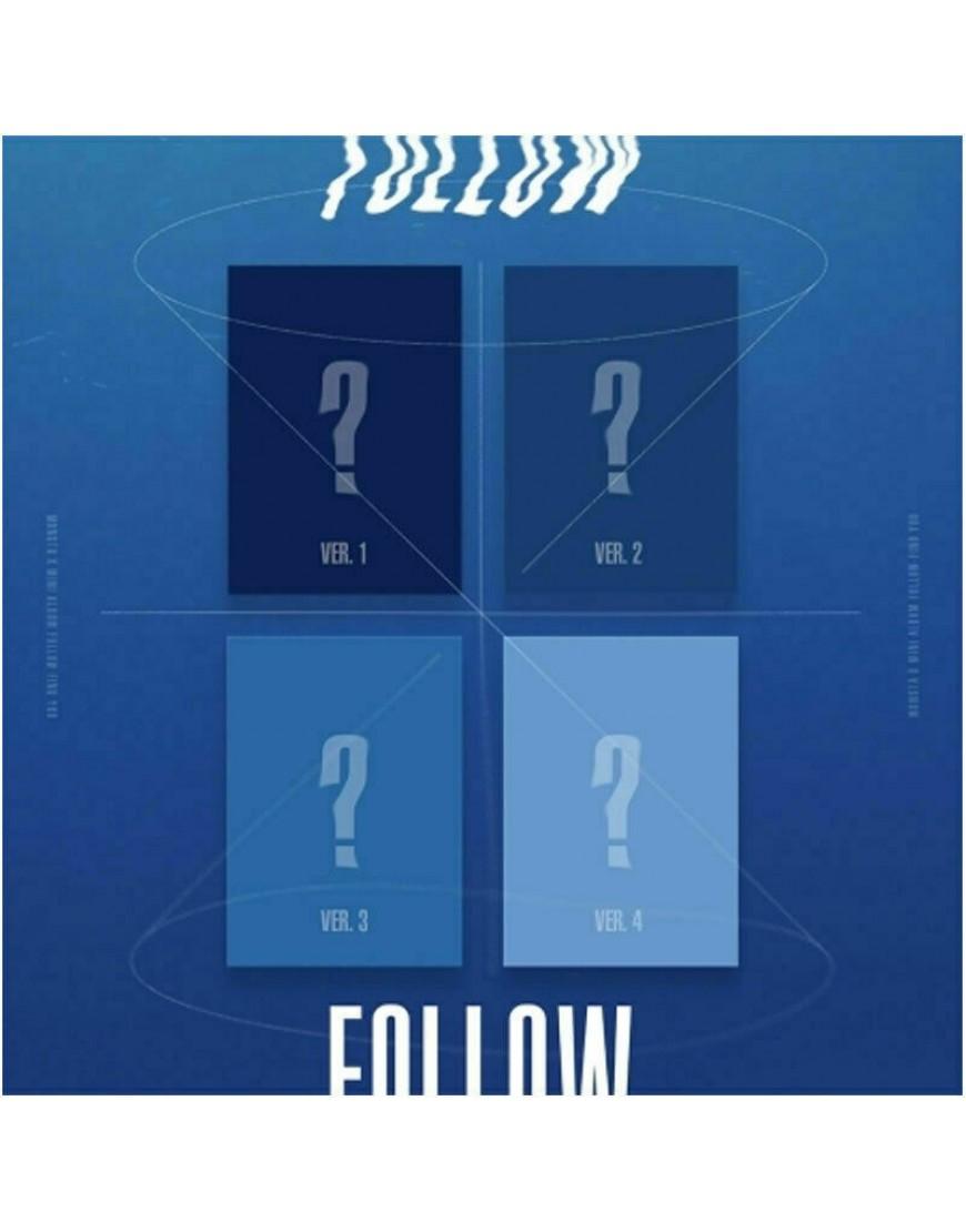 MONSTA X -  FOLLOW - FIND YOU CD popup