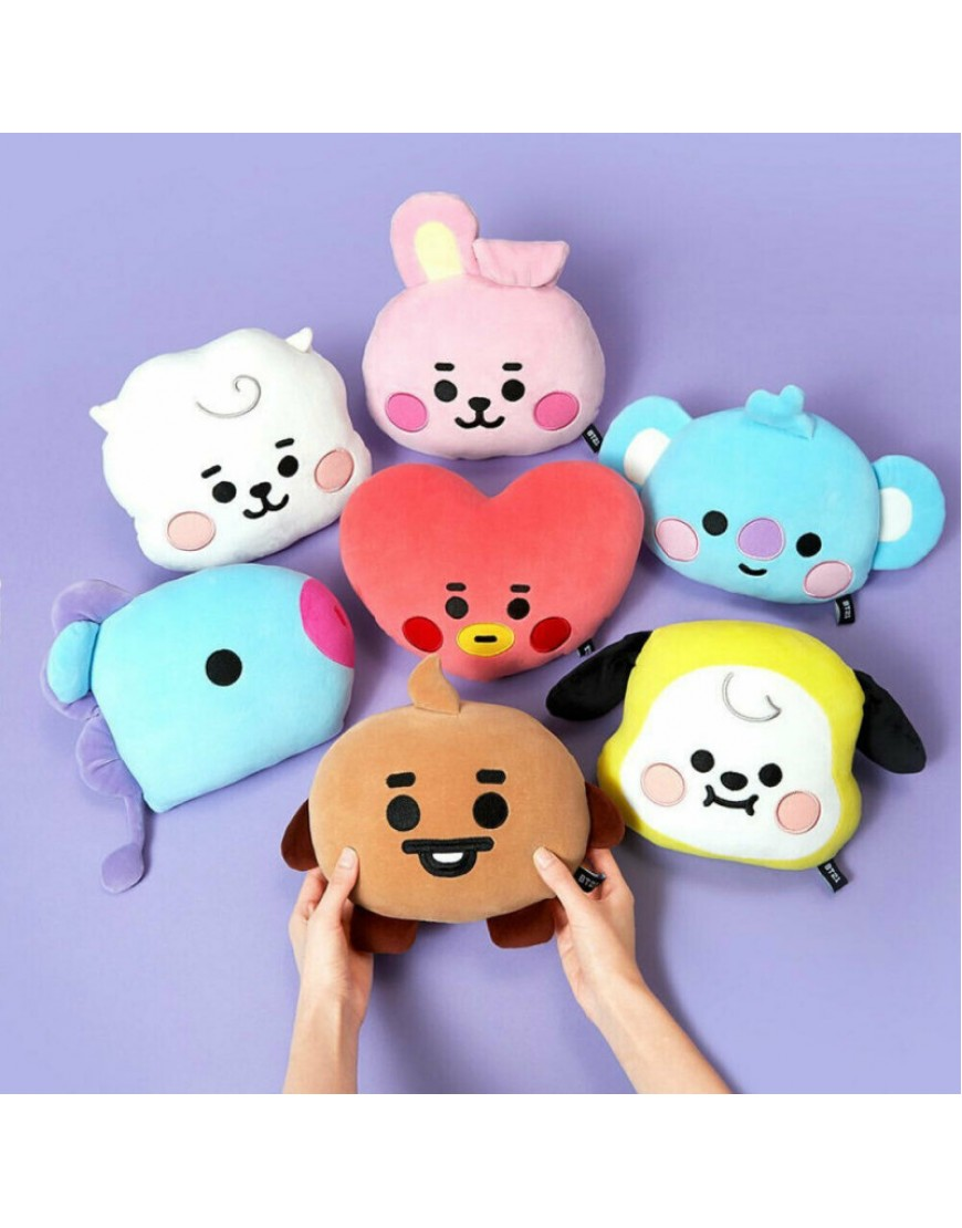 BT21 -BTS Baby Flat Face Cushion OFICIAL popup