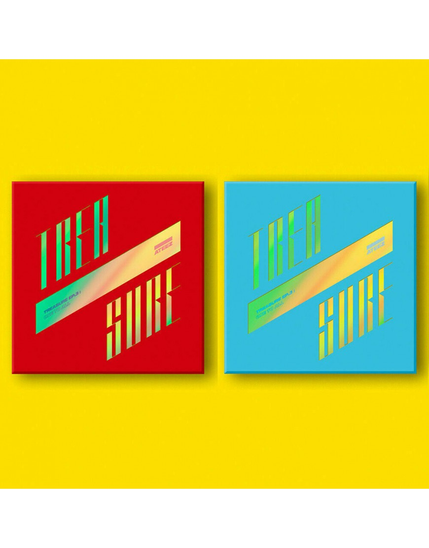 ATEEZ- TREASURE EP.3 : One To All CD popup