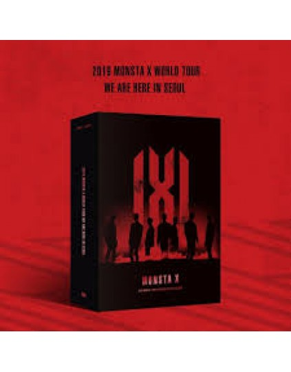 MONSTA X - 2019 MONSTA X WORLD TOUR [WE ARE HERE] IN SEOUL DVD