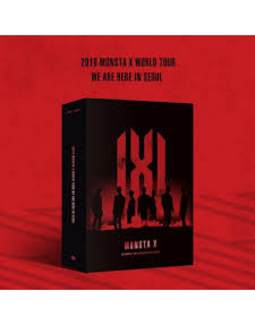 MONSTA X - 2019 MONSTA X WORLD TOUR [WE ARE HERE] IN SEOUL DVD popup