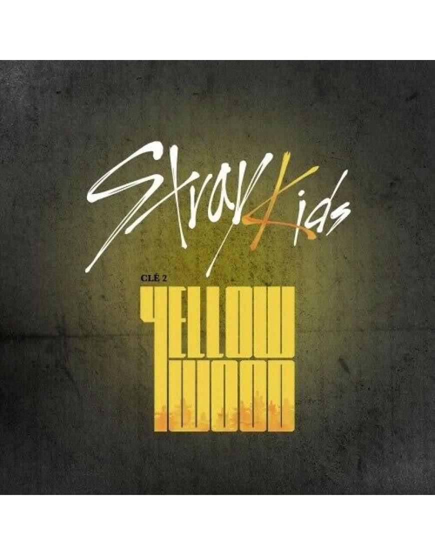 STRAY KIDS - Clé 2:Yellow Wood [LIMITED Ver] CD popup