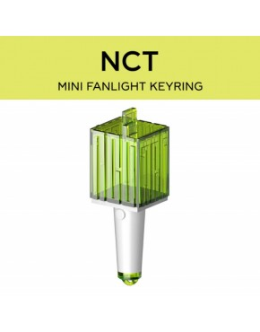 NCT- LIGHTSTICK MINI KEYRING