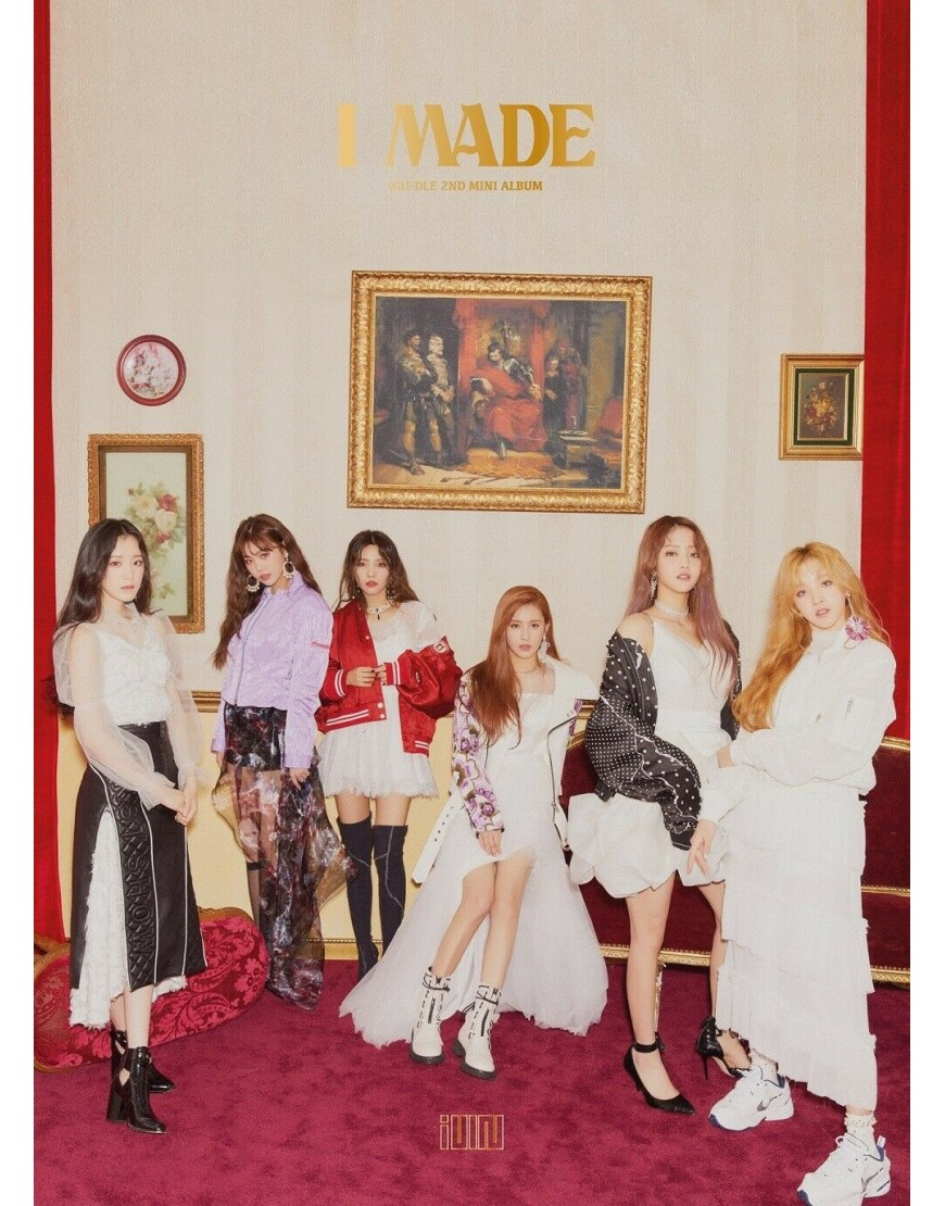 (G)I-DLE - I made CD popup