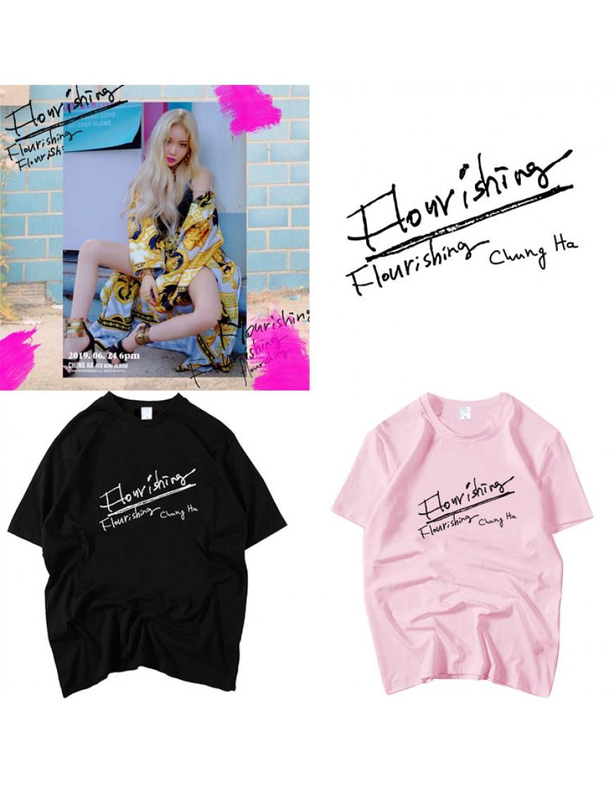 Camiseta Chung Ha Flourishing popup