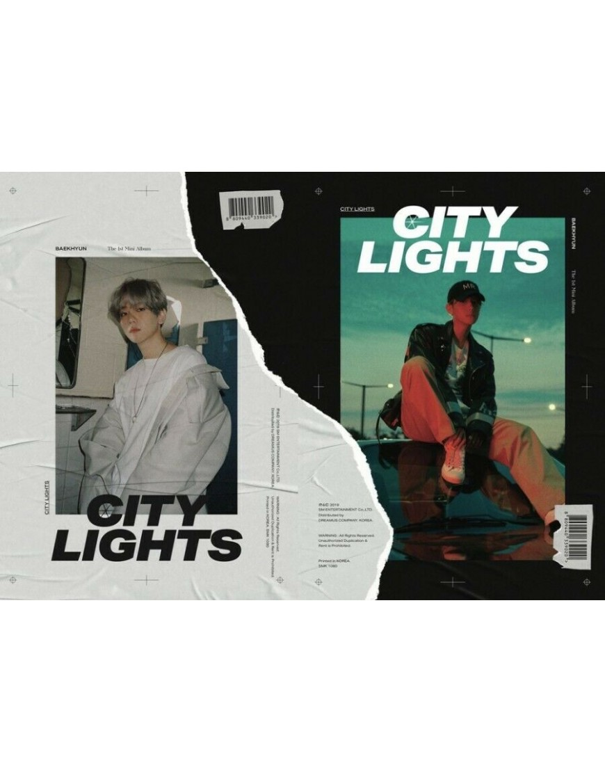 BAEKHYUN (EXO) - City Lights CD popup