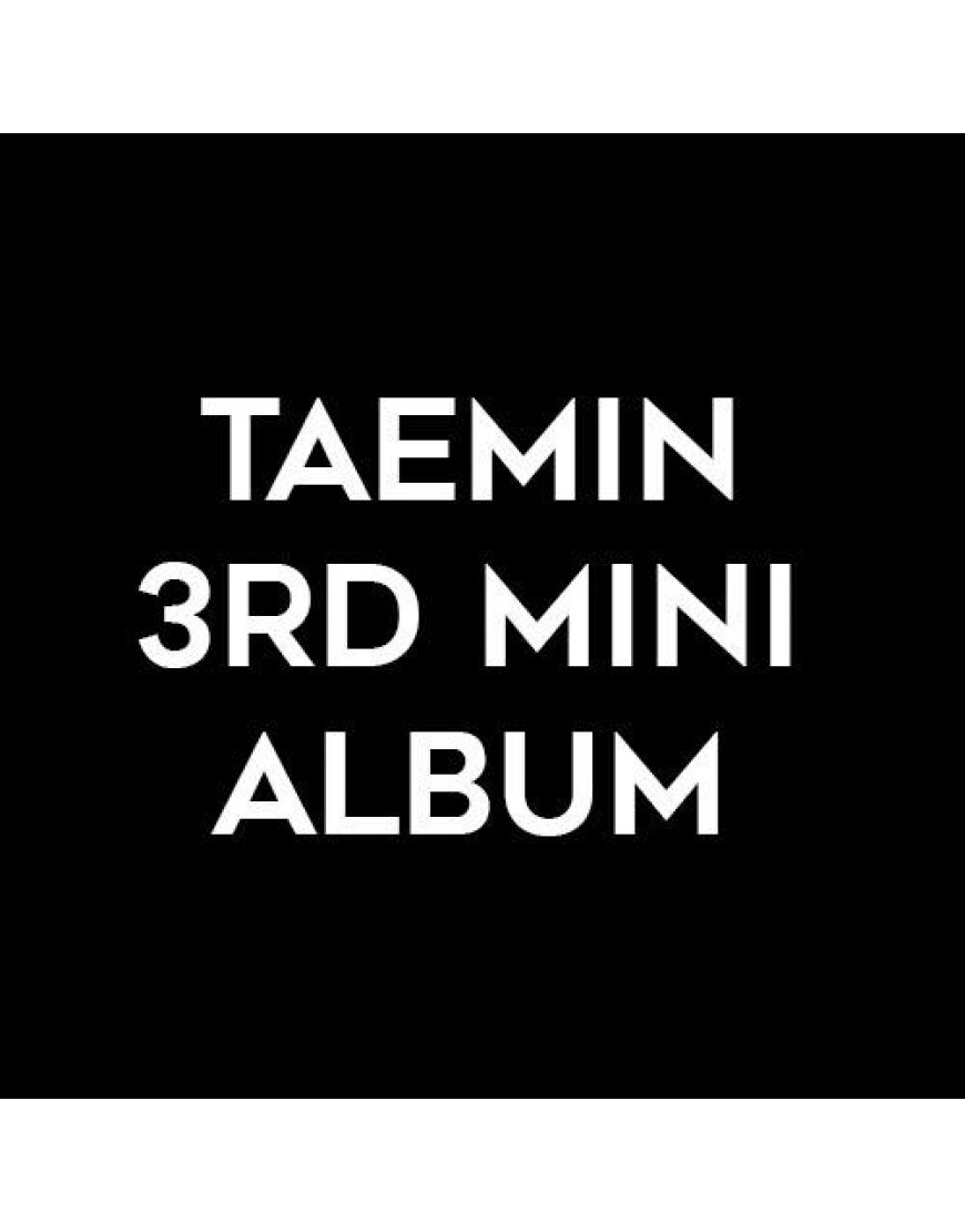 Taemin - 3rd Mini Album [Regular Edition] popup