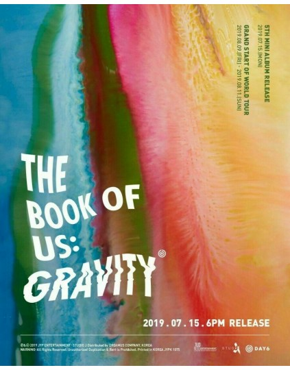 DAY6 - The Book of Us : Gravity CD