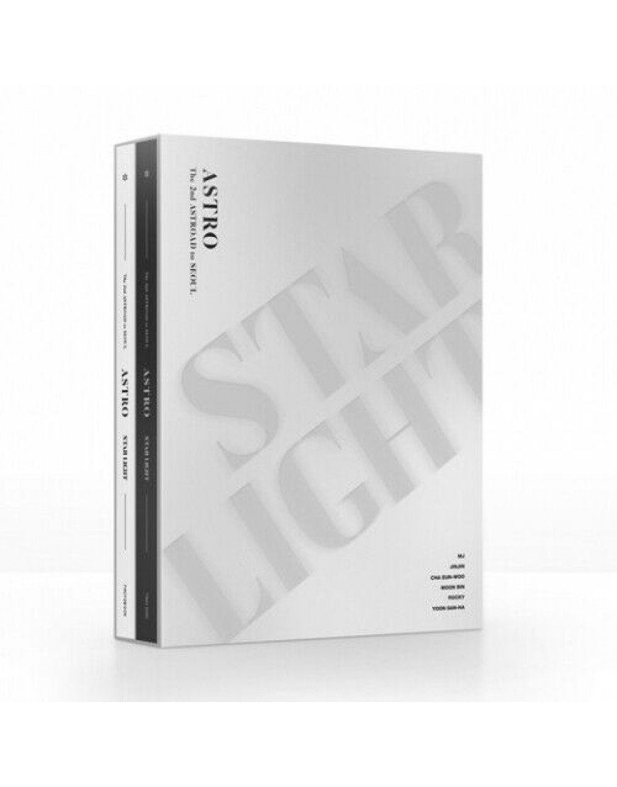 ASTRO - The 2nd ASTROAD To Seoul STAR LIGHT DVD popup