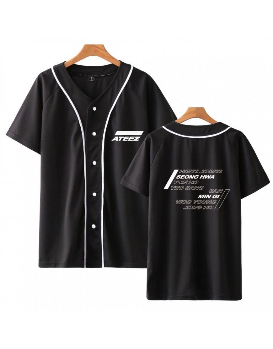 Camisa de Baseball Jersey Ateez popup