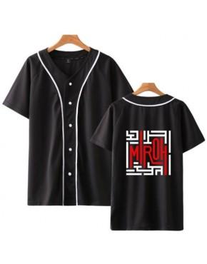 Camisa de Baseball Jersey Stray Kids Miroh