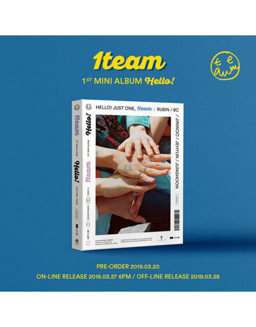 1TEAM - HELLO! CD popup