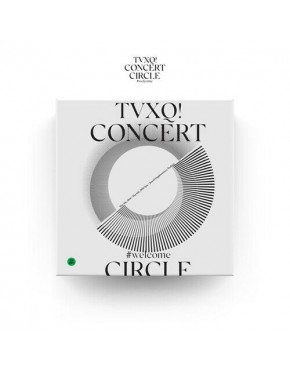 TVXQ! - TVXQ! CONCERT -CIRCLE- #welcome DVD