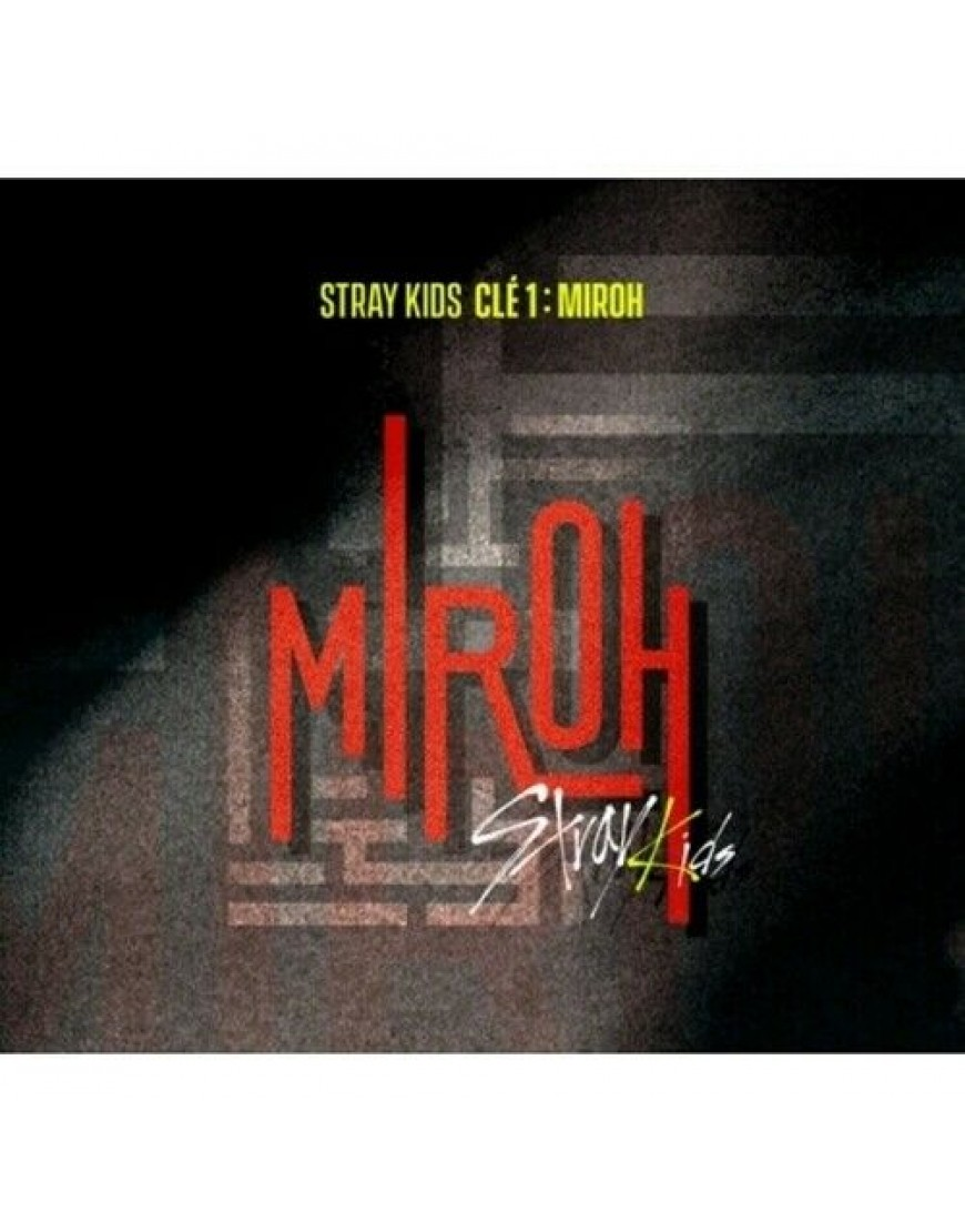 STRAY KIDS - Clé 1 : MIROH [Normal version] CD popup