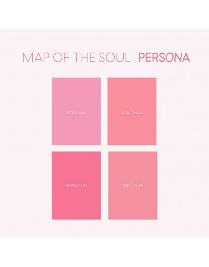 COMBO BTS - MAP OF THE SOUL : PERSONA CD ( 4 VERSÕES)