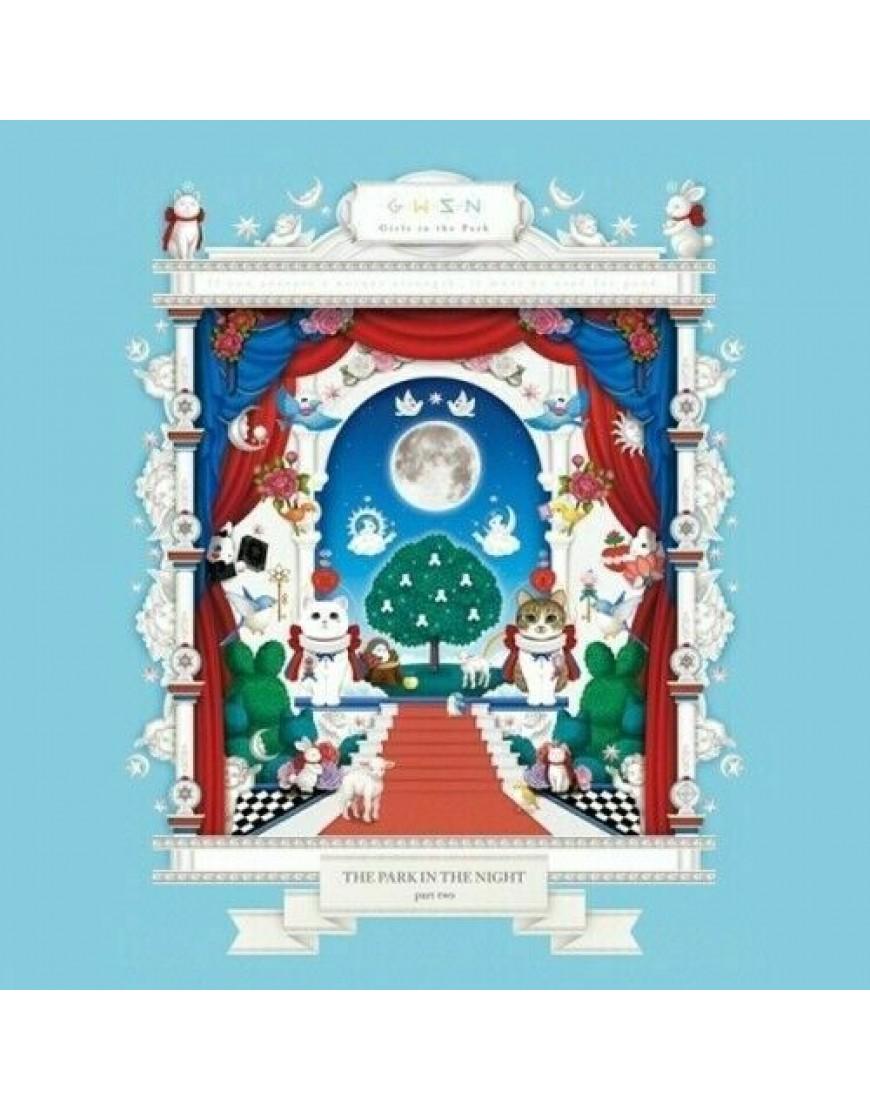 GWSN - Mini Album Vol.2 [밤의 공원(THE PARK IN THE NIGHT) part two] CD popup
