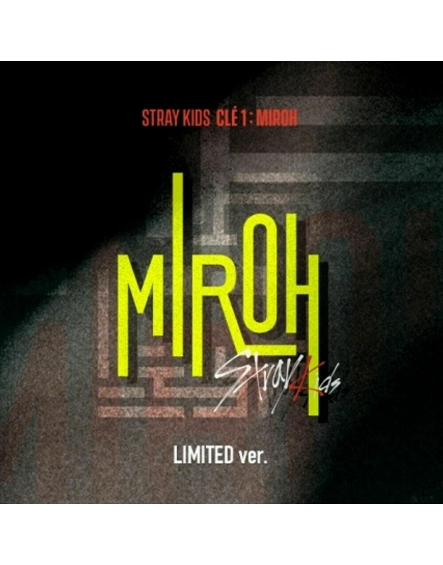 STRAY KIDS - Clé 1 : MIROH [Limited version] CD popup