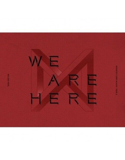 MONSTA X -  TAKE.2 WE ARE HERE CD
