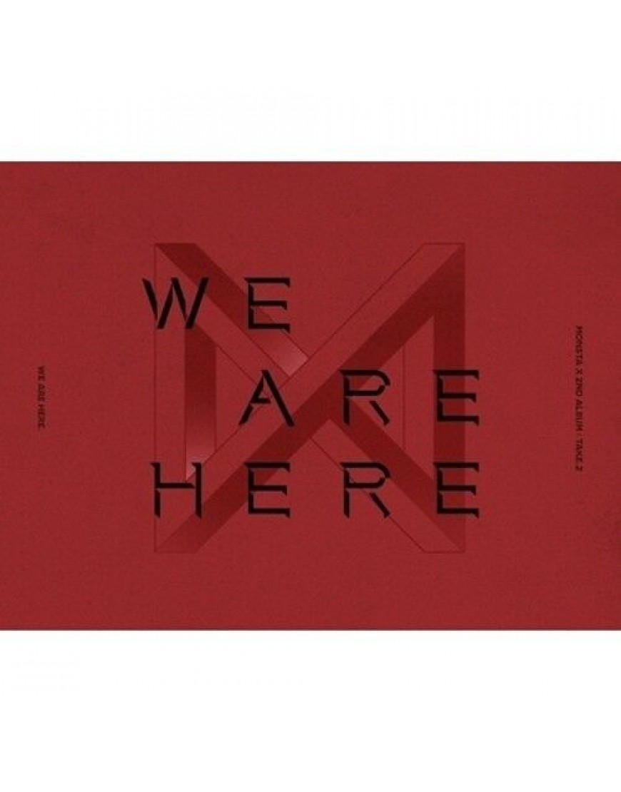 MONSTA X -  TAKE.2 WE ARE HERE CD popup
