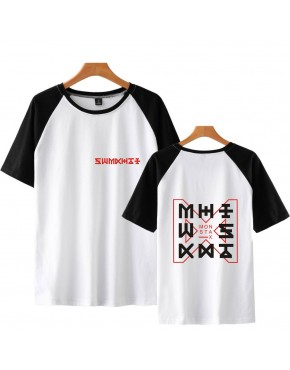 Camiseta Raglan Monsta X