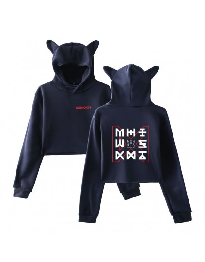 Moletom Cropped Cat Monsta X