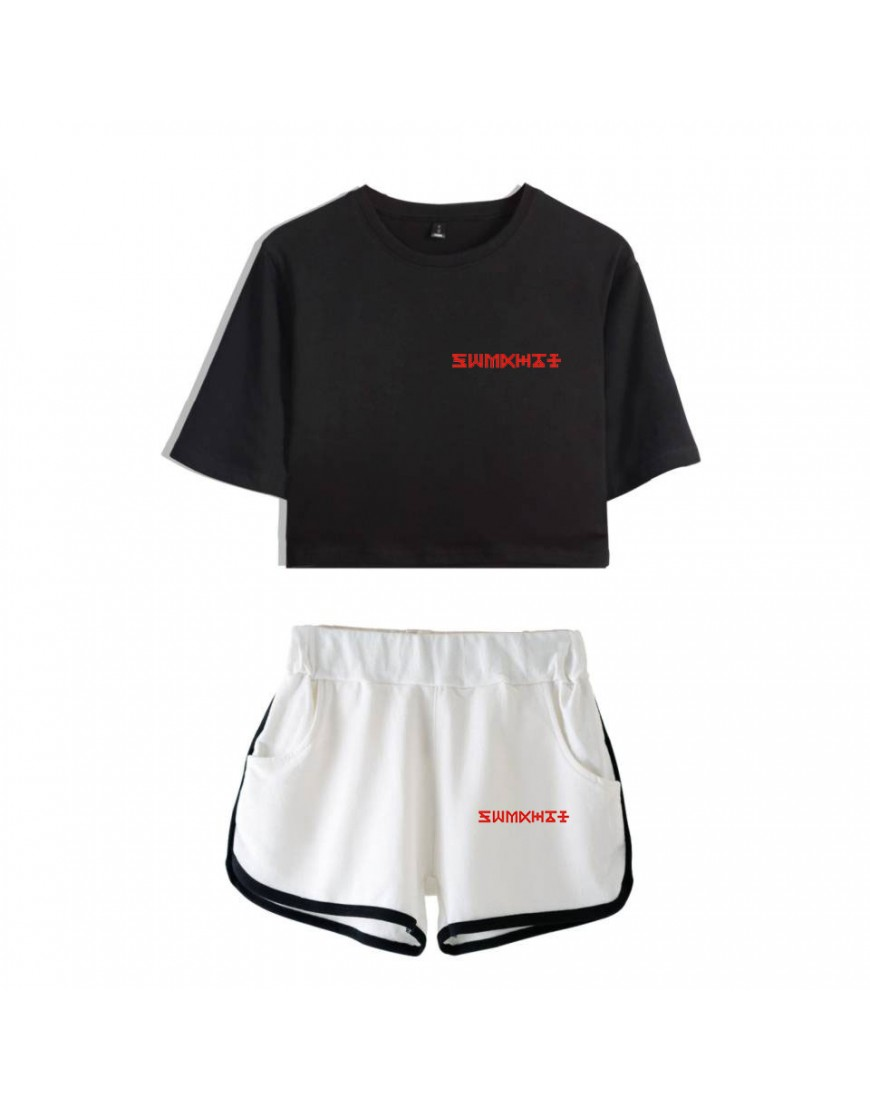 Conjunto Monsta X (Shorts+Cropped) popup