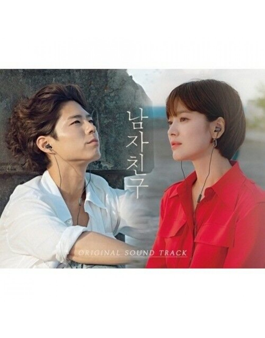 Boyfriend O.S.T - tvN Drama (Song Hye Kyo, Park Bo Gum) CD popup