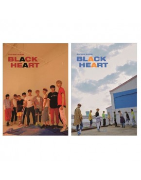 UNB - Mini Album Vol.2 [BLACK HEART] CD