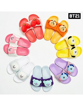 BTS -BT21 -Official Limited Plush Slipper