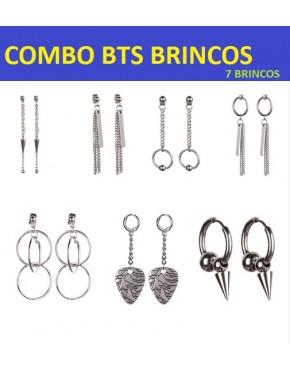 COMBO BTS BRINCOS ( 7 BRINCOS)