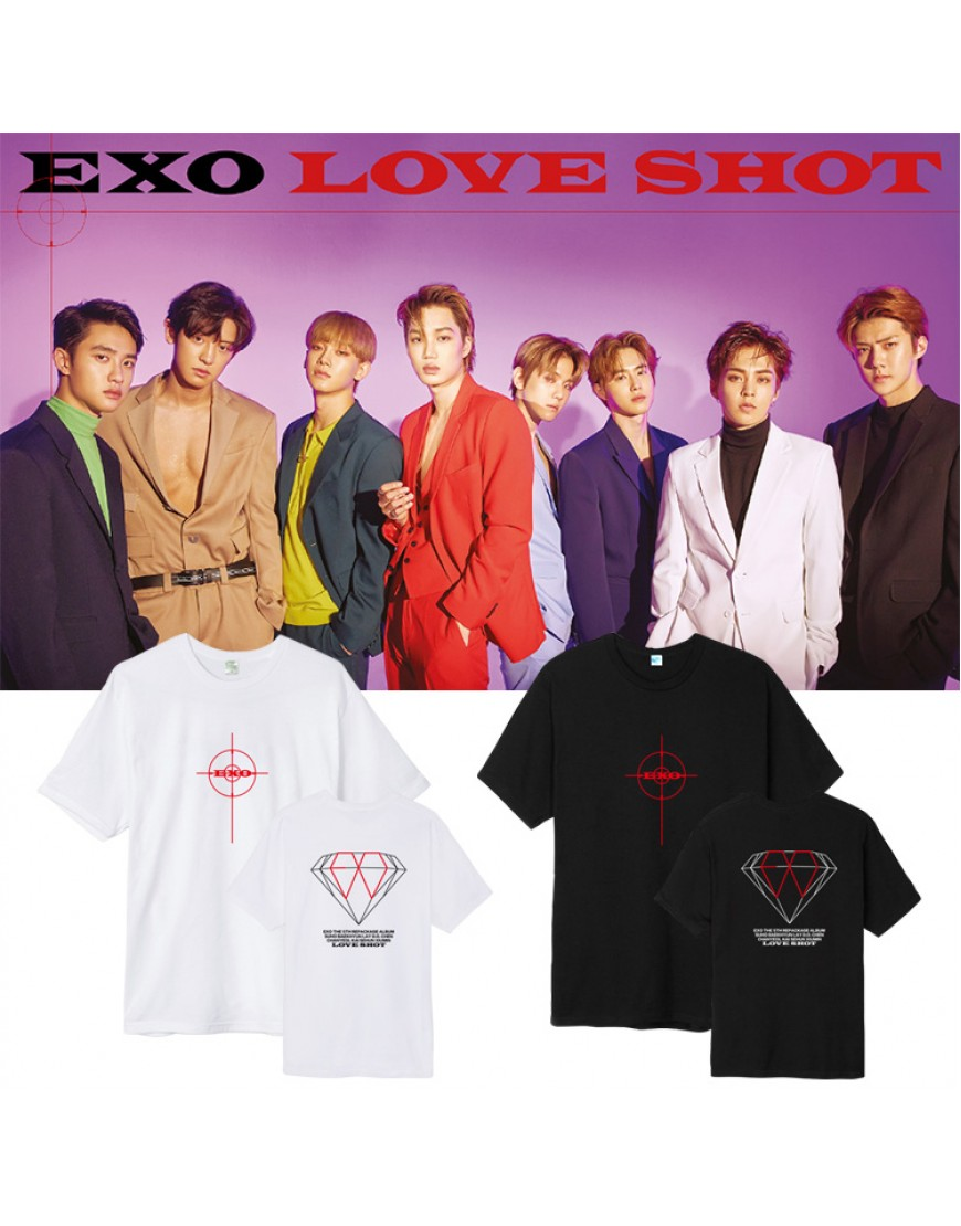 Camiseta Exo Love Shot popup
