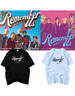 Camiseta Day6 Remember Us