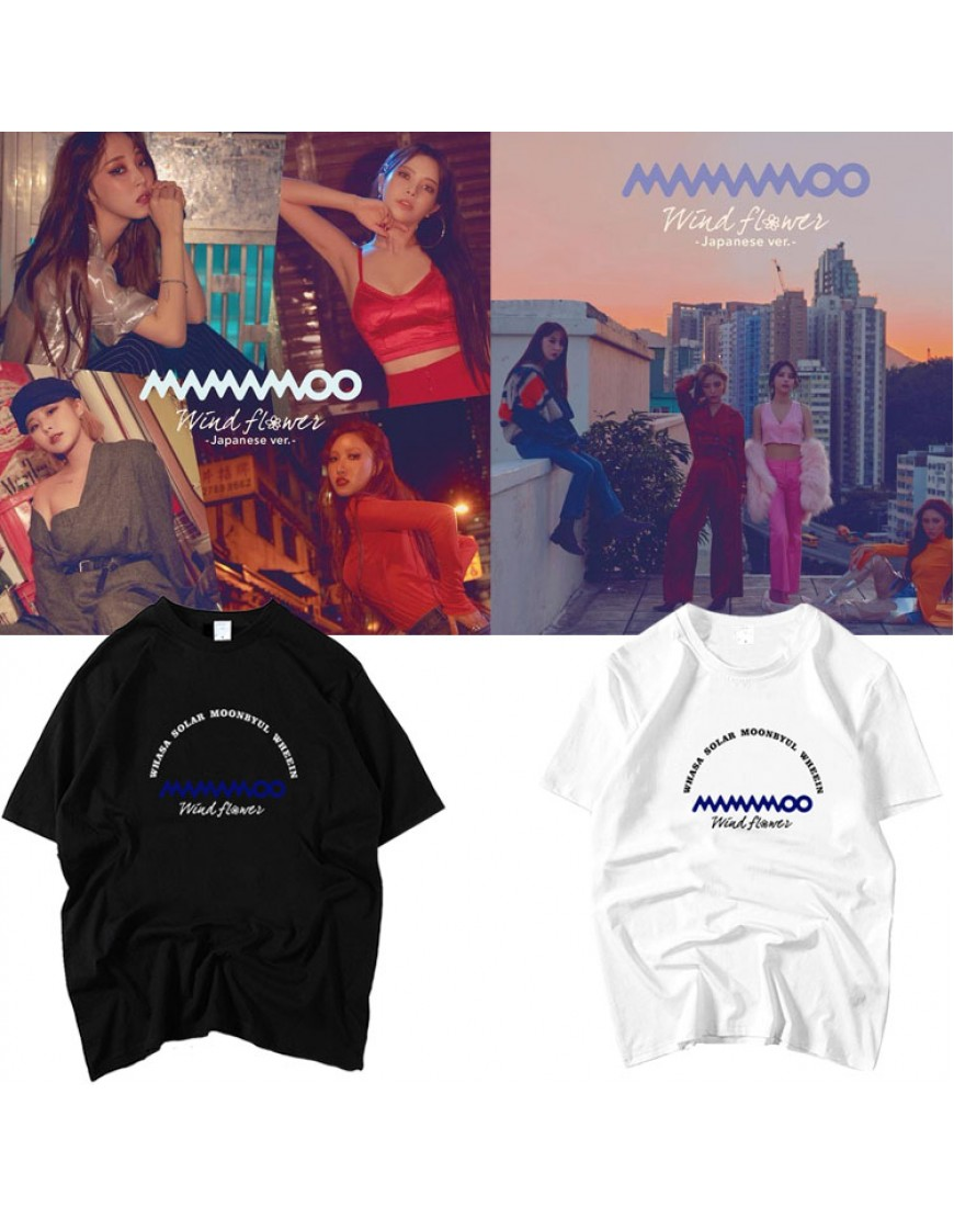 Camiseta Mamamoo Wind Flower popup