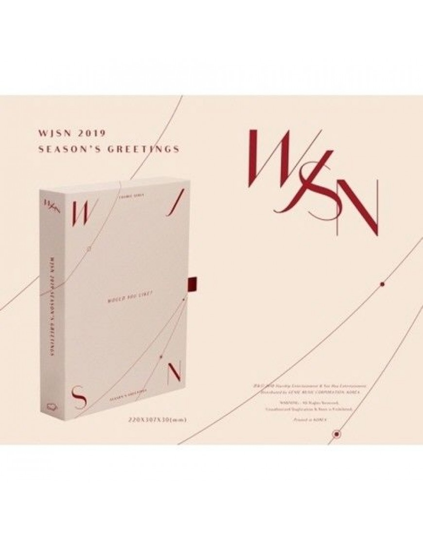 WJSN 2019 SEASON'S GREETINGS popup